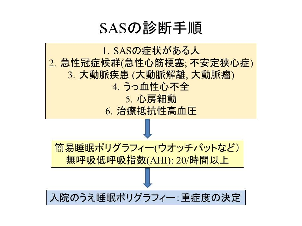 SASの診断手順